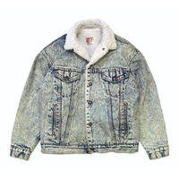 80's Levi's Denim Boa Jacket size S