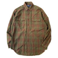 POLO RALPH LAUREN CHECK SHIRT size M