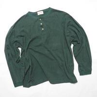 """""""Eddie Bauer"""" Henley neck L/s Tshirt XL程"""