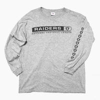 RAIDERS L/s T-SHIRT XL
