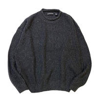 STRUCTURE ROLL NECK KNIT(COTTON×RAMIE) size XL