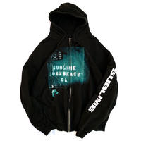 2007 SUBLIME ZIP HOODIE size XL