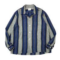 〜60's Cranbrook Striped Wool Shirt size L
