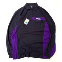 NEW FedEx L/S POLO SHIRT size M