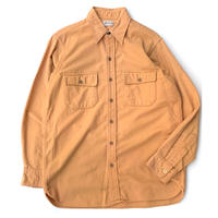 70's L.L.Bean Chamois Cloth Shirt size L程