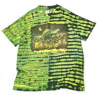 Wishing oo a Star Tie Dye T-shirt Made in usa