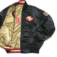 "San Francisco 49ers Reversible Stadium Jkt ""STARTER"" Size-XXL MADE IN USA"