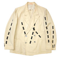 VINTAGE PALM BEACH LINEN JACKET  size 44
