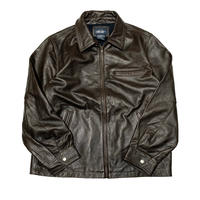CHEROKEE LEATHER JACKET size L