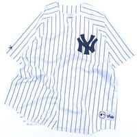 majestic new york yankees base ball shirt made in usa