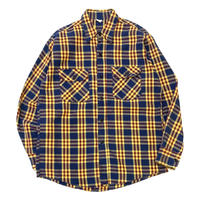 CHECK FLANNEL SHIRT size M程