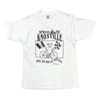 1991 SPRINT TO KNOXVILLE BICYCLE T-SHIRT MADE IN USA🇺🇸size M〜L程