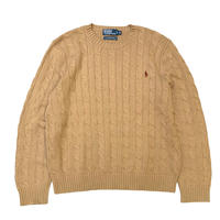 Polo Ralph Lauren Cotton Cable knit size XL