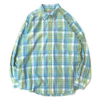 L.L.BEAN CHECK SHIRT size XL