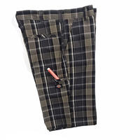 Dickies Check Shorts Size-w34