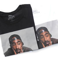 NEW 2PAC Photo Tee  Black-L.XXL   White-L