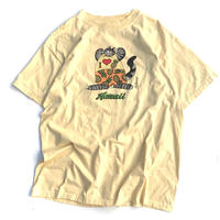 BKLIBAN CAT T-SHIRT MADE IN USA size L