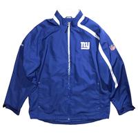 """"""" New York Giants """"  Reebok NYLON Jkt🏈 Size-L 実寸XL程  Condition-mint"""