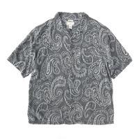 BOCA CLASSICS  Paisley Shirt   RAYON × SILK  Size-L