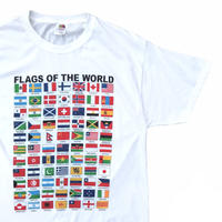 FLAGS OF THE WORLD Tee Size-L