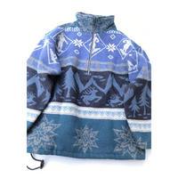 L.L.Bean Wool Pullover Jkt Size-M