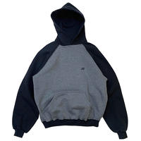 RUSSELL 2TONE HOODIE size L