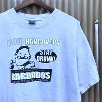 """BARBADOS🌴 """"AVOID HANGOVERS"""" T-shirt Size-L"""