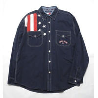 TOMMY JEANS Stars and Stripes pattern Shirt XL
