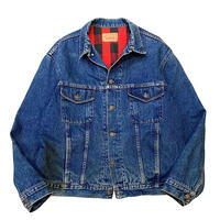 70-80's GAP PIONEER NEL LINER DENIM JACKET size XL