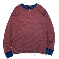 POLO SPORT L/S BORDER HENLY NECK size M
