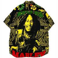 BOB MARLEY RAYON SHIRT size L〜XL程
