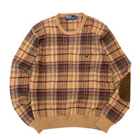 Polo Ralph Lauren Check Lite Knit  size M