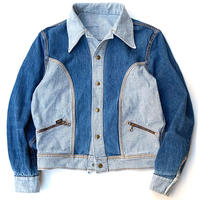 70's Lee Reversible Denim Jacket size M程