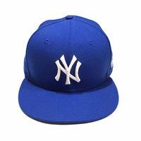 """NY Blue Cap """"NEW ERA"""" Size-7-3/8 58.7cm"""