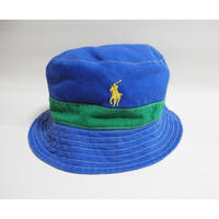 NEW POLO by Ralph Lauren   reversible  Bucket Hat S-M