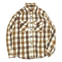FIVE BROTHER HEAVY NEL SHIRT MADE IN USA size M程