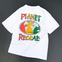 PLANET REGGAE T-SHIRT MADE IN USA size L
