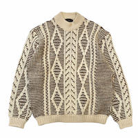 CREW NECK KNIT SWEATER size L程