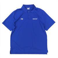 DENON🔉 × underarmour🏃♂️  Polo Shirt  Size-XL