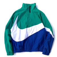NIKE BIG SWOOSH NYLON JACKET size S