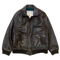 A-2 TYPE LEATHER FLIGHT JACKET size M程