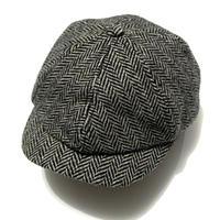RRL  Herringbone Wool Casquette
