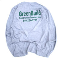 Green Build L/s T-shirt Size-XL