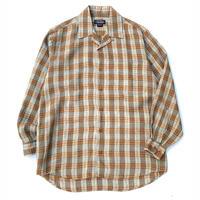 The J.Peterman Company Open Collar Linen Shirt size  M程