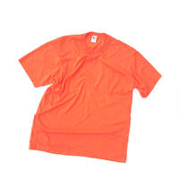 Poket 無地T-shirt Size-L MADE IN USA  COTTON 50% POLYESTER 50%