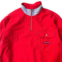 EDDIE BAUER COTTON HALF ZIP SHIRT size L
