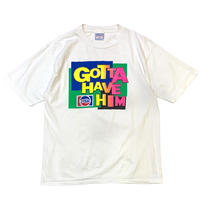 90's JESUS GOTTA HAVE HIM T-SHIRT MADE IN USA🇺🇸 size M〜L程