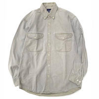 OLD GAP HEVAY COTTON L/S SHIRT size M程