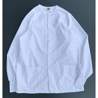 SNAP BUTTON WHITE SHIRT size M