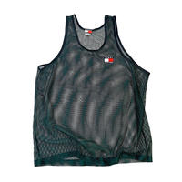 TOMMY HILFIGER MESH TANKTOP MADE IN USA🇺🇸 size L
